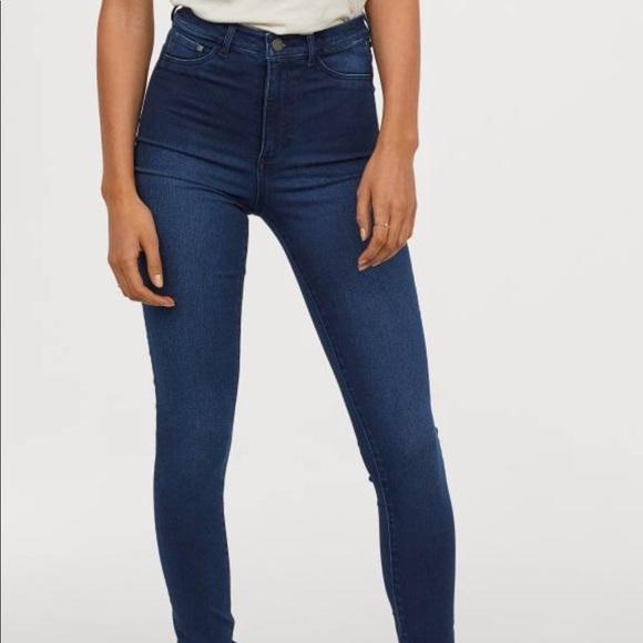 2b4e17c7bb4c1 H&M Jeans | Hm Womens Sz 27 Skinny High Waist Jegging Euc | Poshmark